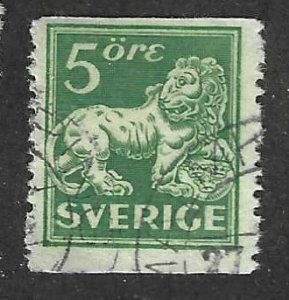 Sweden  Scott  135  Used