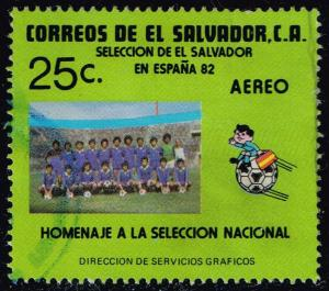 El Salvador #C518 World Cup Soccer Team; Used (0.25)