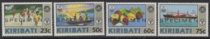 KIRIBATI SG390/3s 1992 WORLD HEALTH SPECIMEN MNH