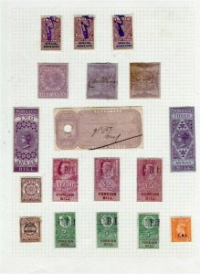 INDIA; QV- GV REVENUES small useful used group on album page