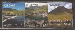 Faroe Islands SC 467-9 Mint, Never Hinged