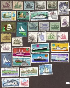 Ships - all different from Poland, Pitcairn