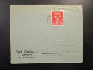 Germany SC# 504 on Cover to Berlin - Z6709