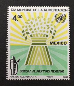 Mexico 1981 #1254,World Food Day, MNH.