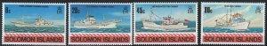 Soloman Islands Scott 421-424 MNH!