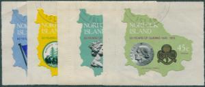 Norfolk Island 1978 SG203-206 Guides set FU