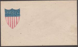 OS 23 SHIELD STAND BY THE FLAG PATRIOTIC COVER BL5974