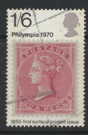 Great Britain SG 837 - Used   - Philympia Stamp exhibition