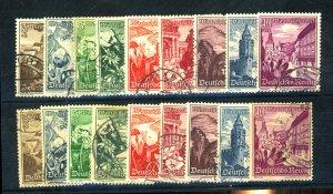 Germany #B123-31(2) Used FVF Cat$42.50