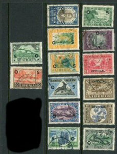 Liberia #O113-26 Used