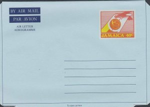 JAMAICA 40c aerogramme - unused............................................L232