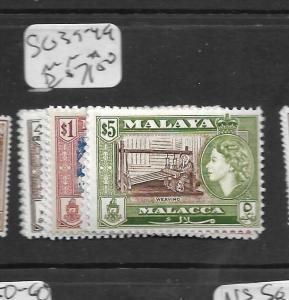 MALAYA MALACCA (PP0109B) QEII   SG 39-49  MNH