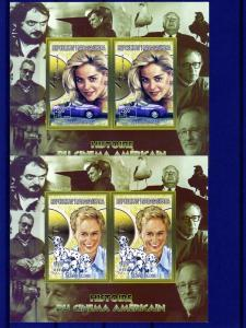 Madagascar History of American Cinema (9)SS Collectives MNH
