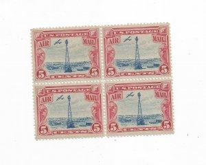 US SCOTT# C11, BLOCK OF 4, MNH, OG