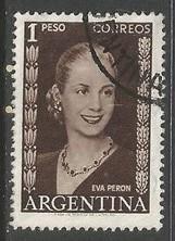 ARGENTINA 611 VFU Z3909-3