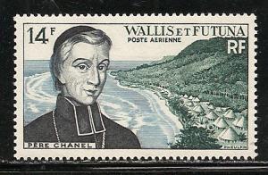 Wallis and Futuna Islands C12 1955 Chanel single MNH