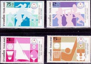 Thailand 1978, Sports  MNH set # 870-873
