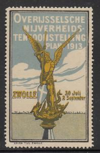 Netherlands 1913 St. George & Dragon - Zwolle Expo