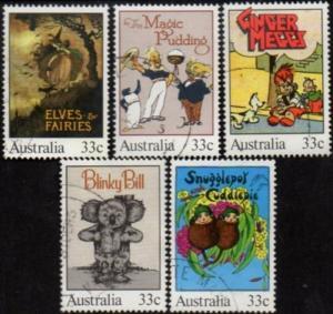 Australia 1985 SG983 Classic Children's Books set FU