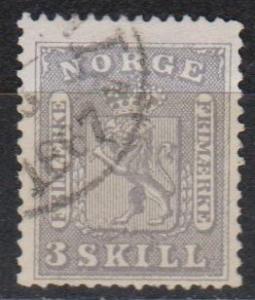 Norway #7 F-VF Used CV $600.00 (B5328)