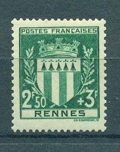 France sc# B125 mh cat value $1.50