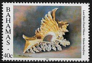 Bahamas #855b MNH Stamp - Seashell