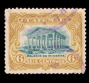 GUATEMALA STAMP 1902 SCOTT # 117. USED. # 3