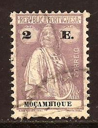 Mozambique  #  188  used .