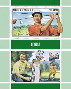 Z08 IMPERF TG190144b TOGO 2019 Golf MNH ** Postfrisch