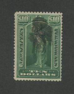 1896 United States Newspaper Periodical Stamp #PR122 Used F/VF Postal Cancel