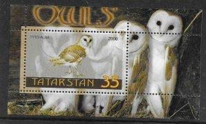 2006    TATARKSAN - OWLS  - LOT 2 -  MNH