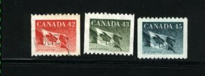 Canada #1394-96   -3   used VF 1992 PD