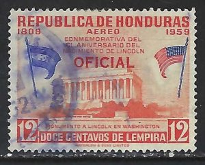 Honduras CO103 VFU Z4838-2