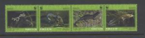 Estonia Sc 653 2010 WWF stamps mint NH