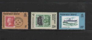 ASCENSION #212-214  1976  FESTIVAL OF STAMPS   MINT VF NH  O.G