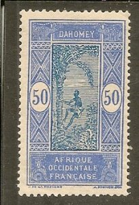 Dahomey   Scott 65  Man Climbing Tree   Unused
