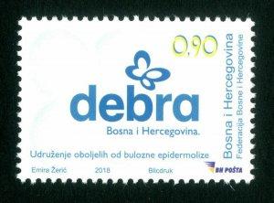 BOSNIA&HERZEGOVINA 2018 -  Children's Postage Stamp - ''Debra'', MNH