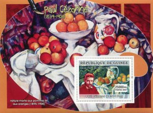 Guinea 2007 PAUL CEZANNE Paintings s/s Perforated Mint (NH)