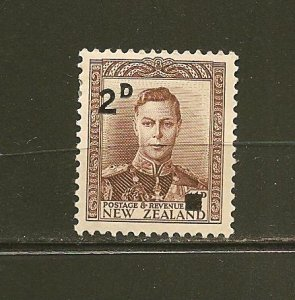 New Zealand 243 King George VI Mint Hinged