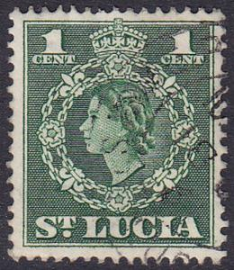 St Lucia 1953 SG172 Used