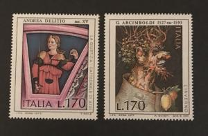 Italy 1977 #1271-72 MNH SCV .50