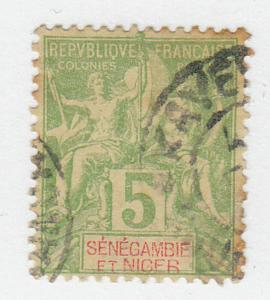 Senegambia & Niger - 1903 - SC 4 - Used - Edge staining