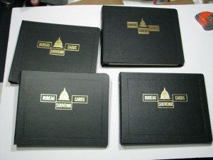 Bureau Engraving Souvenir Card White Ace Album 1939 - 1995 Pages Numismatic BEP