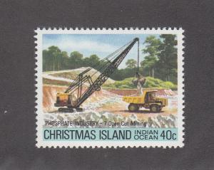Christmas Island Scott #101 MNH