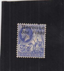 Barbados Revenue Tax Stamp, Sc #12 (24918)