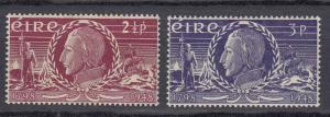 Ireland - 1948 Theobald Wolfe Tone Sc# 135/136 - MH (189N)