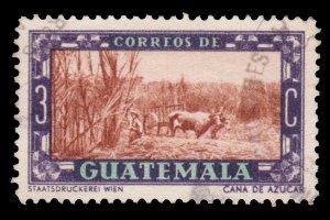 GUATEMALA STAMP 1950. SCOTT # 333. USED.