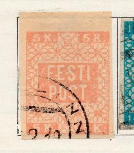 Estonia 1919 Early Issue Fine Used 5k. 170967