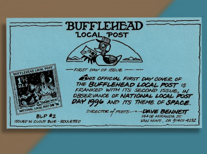 Bufflehead Local Post Observes Nat'l Local Post Day With Its Second Issue 1996