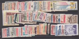 Worldwide, C-F countries of the world, 100+ diff used sets, Scott CV: $556.00